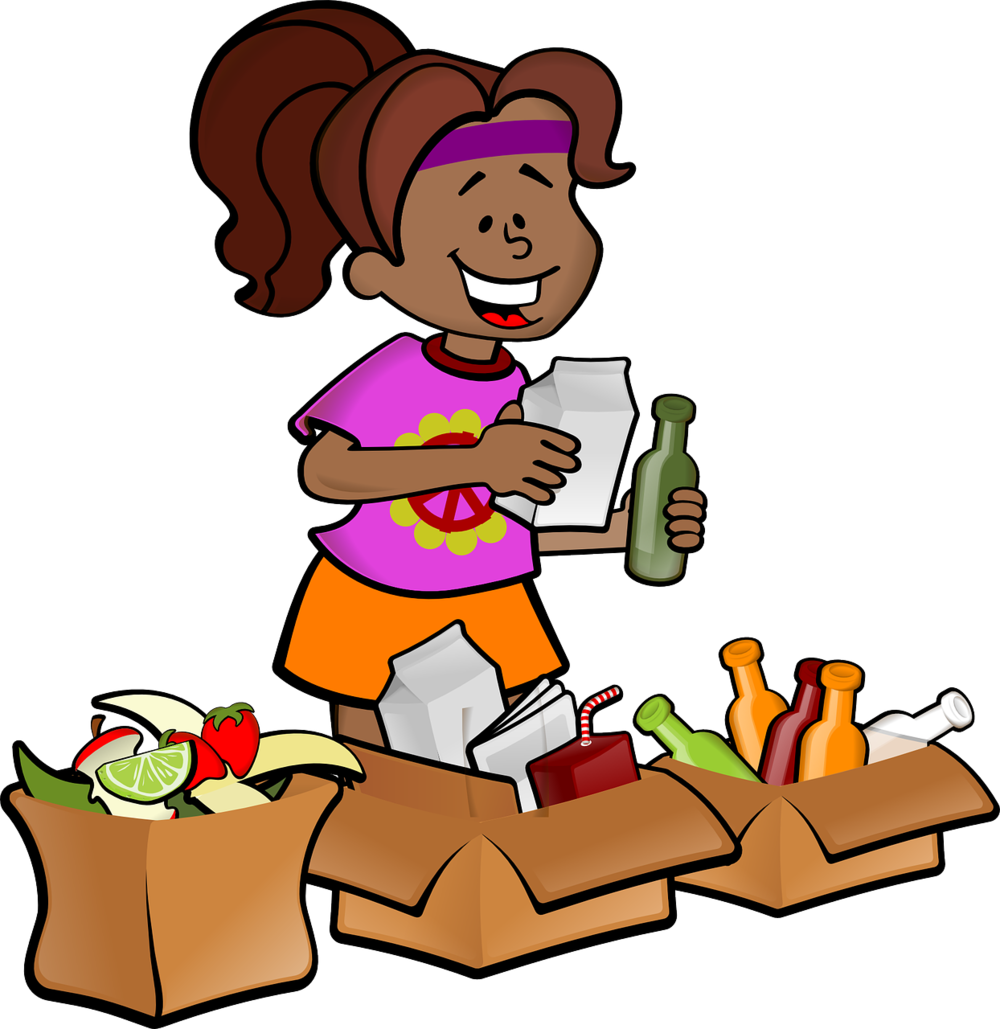 Composting and recycling are ways to celebrate Earth Day everyday!