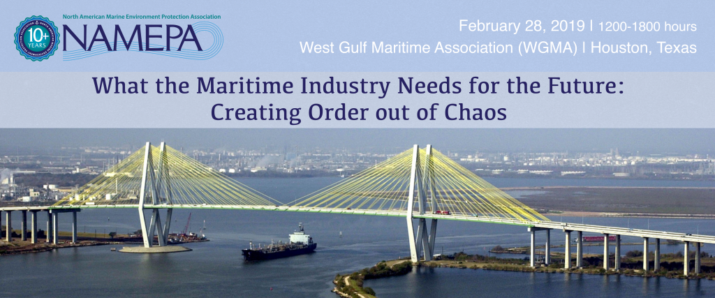 What the Maritime Industry Needs for the Future: Creating Order out of Chaos