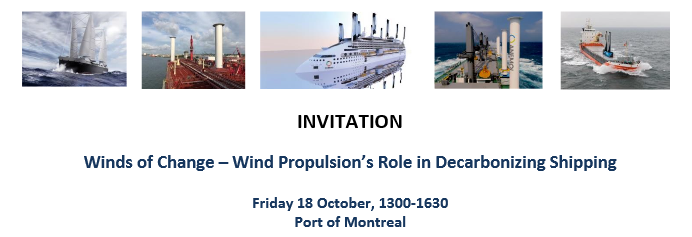 Invitation to Port of Montreal
