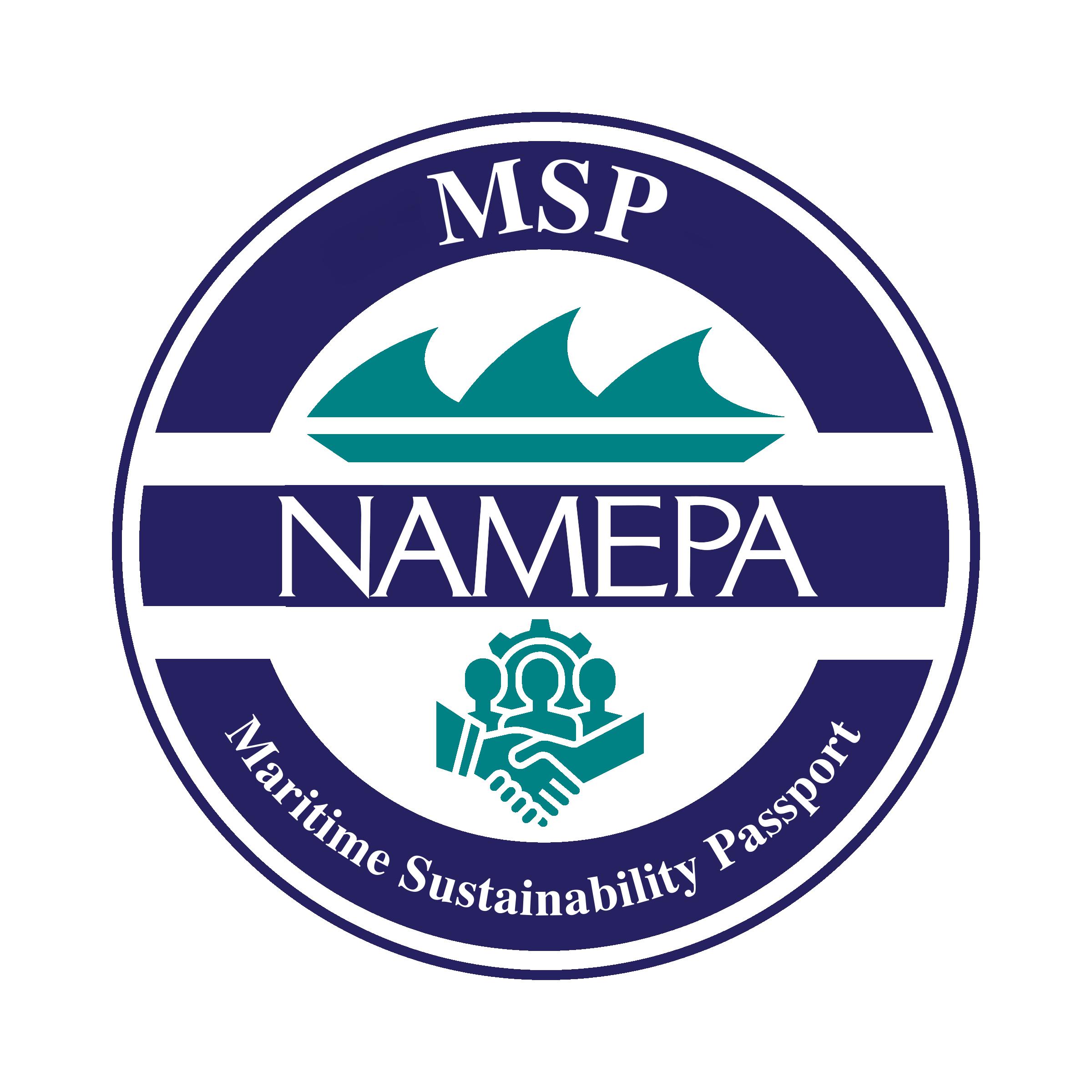 NAMEPA Maritime Sustainability Passport seal