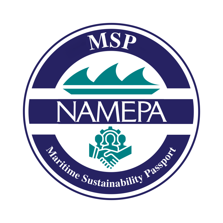 NAMEPA Maritime Sustainability Passport seal